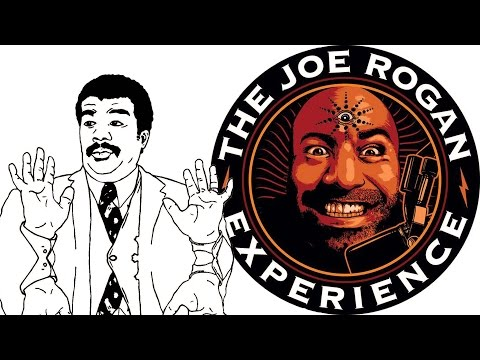 Neil deGrasse Tyson and Joe Rogan talk about the moon landing, space travel