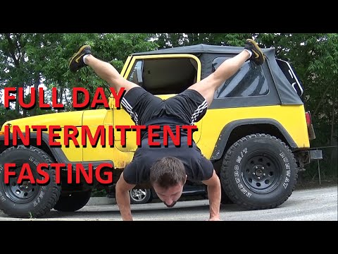 WEED   VITAMIN D   SALMON - Another Typical Full Day of Intermittent Fasting