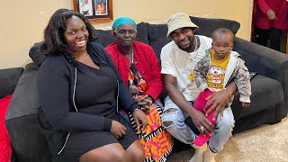 My Long distance BOYFRIEND MEETS MY AFRICAN MOTHER & Sisters for the first time !omg