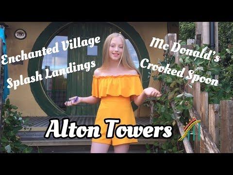 ALTON TOWERS ENCHANTED VILLAGE GRWM VLOG