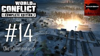 World in Conflict Complete Edition: Campaign Playthrough Part 14 (For the Motherland, No Commentary)
