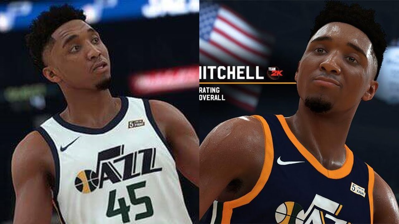 e36b71621a2 NBA 2K19 Donovan Mitchell Screenshot and Rating! - YouTube