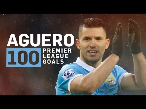 SERGIO AGUERO 100 GOALS IN 100 SECONDS - YouTube