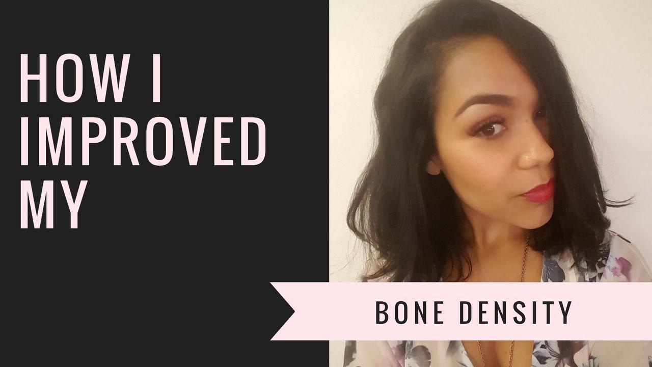 How I Improved my Bone Density - YouTube