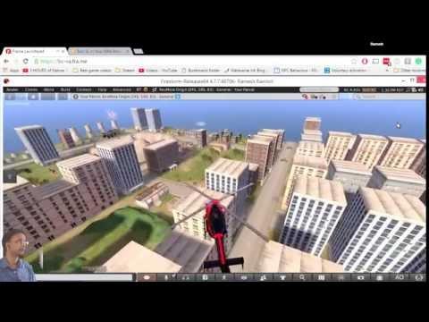 Accessing an opensim region through a web browser
