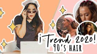 Tendencia de peinados 2020 inspirados en los 90s - aesthetic