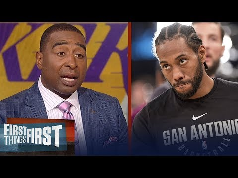 Cris Carter on the possibility of Kawhi Leonard playing for the Clippers   NBA   FIRST THINGS FIRST