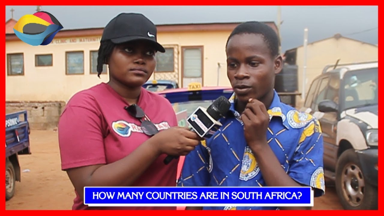 How Many Countries Are In South Africa? | Street Quiz | Funny Videos | Funny African Videos