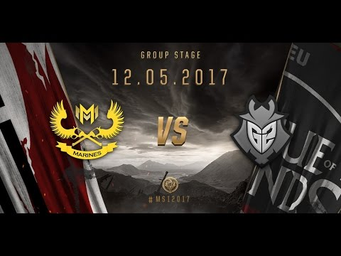 [12.05.2017] GAM vs G2 [MSI 2017][Group Stage]