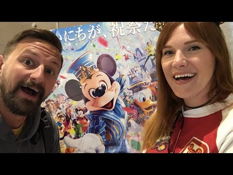 Our First Tokyo Disneyland Trip! | Cute Merch, Ride POVs & What We Ate!