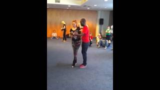 Uri Yep and Kristina Shatalova - Kizomba Workshop- On the Wave festival, Riga, May 2015