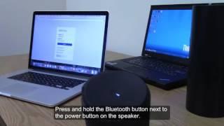 Connecting to UE Boom Speaker (Equipment)