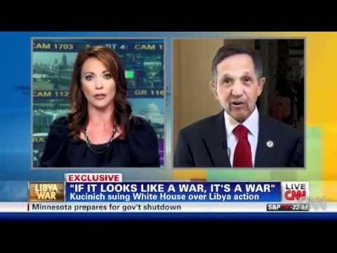 US Congress, e.g. Dennis Kucinich, Sues Barack Obama And Robert Gates Over Libyan War