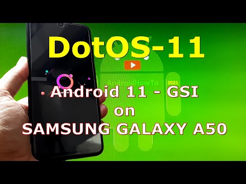 DotOS-11 Android 11 for Samsung Galaxy A50 - Custom ROM
