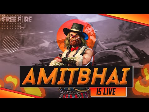 Free Fire Live With AmitBhai || New Events In Game || Desi Gamers