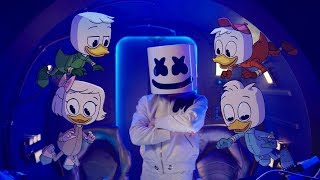 Marshmello X Ducktales - Fly Music Video