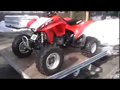 How To Drain The Gas Out Of The Carburetor On A Honda TRX450R 2013 2014