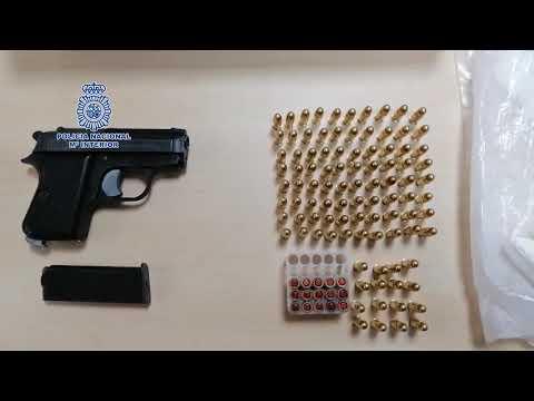 Objetos incautados en el marco del Operativo Neón de la Policía Nacional