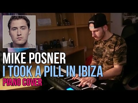 Mike Posner - I Took A Pill In Ibiza - Seeb Remix (Piano Cover By Marijan) + Sheet Music