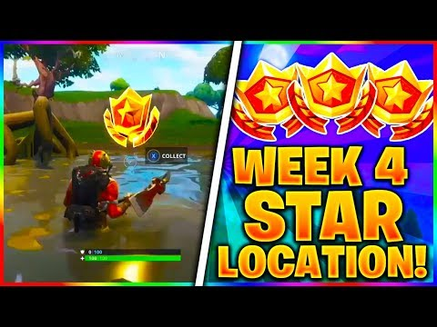 """WEEK 4 BATTLE STAR LOCATION! """"SEARCH BETWEEN A VEHICLE TOWER, ROCK SCULPTER AND A CIRCLE OF HEDGES"""""""