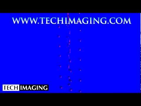 High Speed Camera Video - Water drop Art