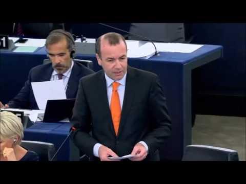Manfred Weber zur Lage der EU, 14.09.2016