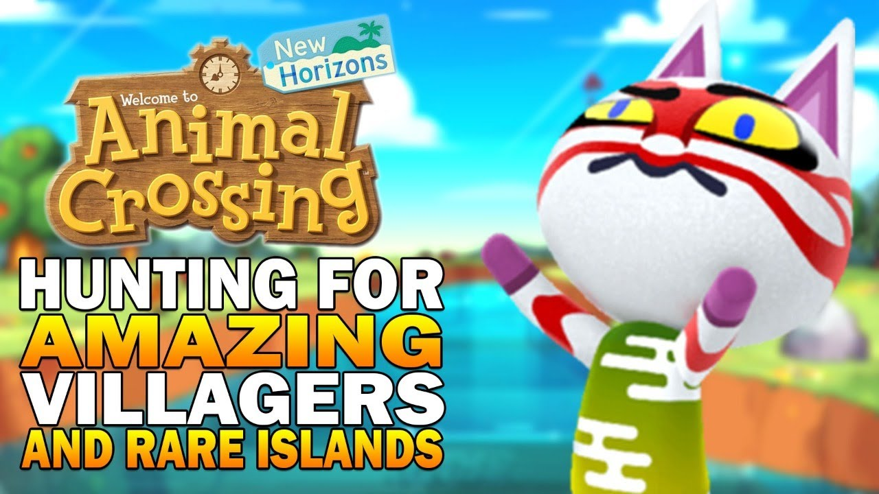 The Hunt For Amazing Villagers Rare Islands Befriending Villagers Animal Crossing New Horizons