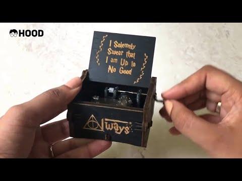 Potterhood Black Music Box