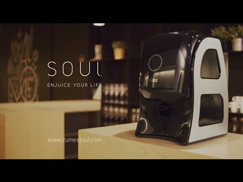 Zumex Soul. Easy to use, easy to clean