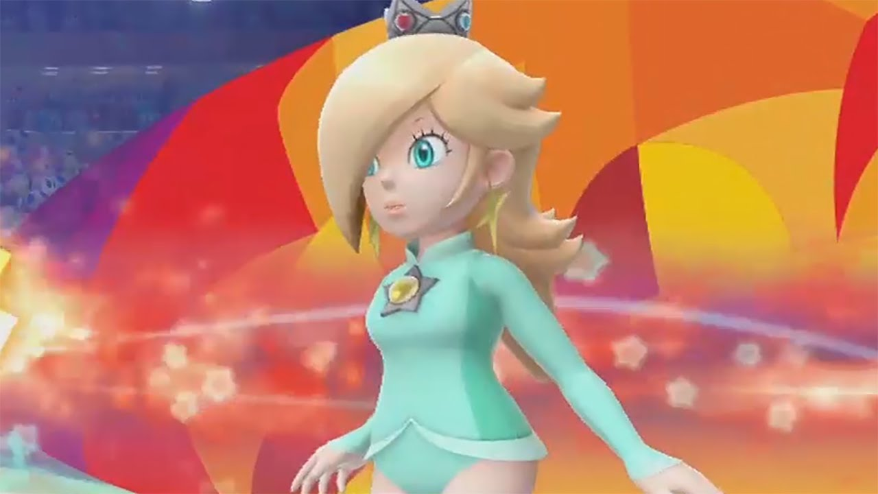 Mario Sonic At The Rio 2016 Olympic Games Wii U Unlocking Rosalina Youtube