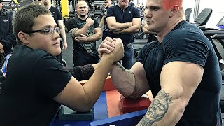 Schoolboy VS Mutant 2.0 | ARM WRESTLING 2019