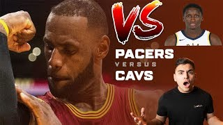 CAVS VS PACERS !!! Cavs lose game 3 pacers up 2-1!