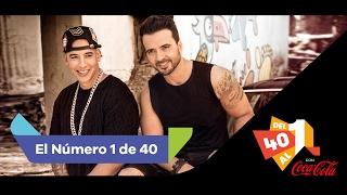 Luis Fonsi Feat Daddy Yankee DESPACITO Nº 1 De LOS40 11 De Febrero De 2017