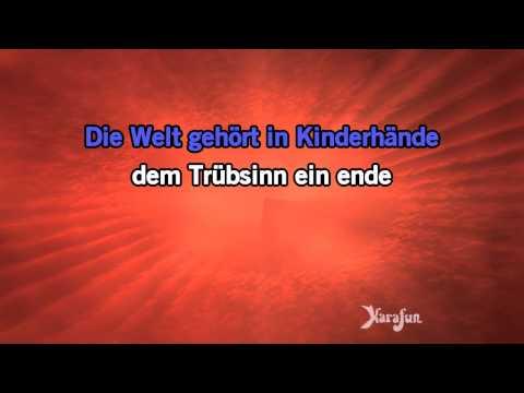 Karaoke Kinder an die Macht - Herbert Grönemeyer *