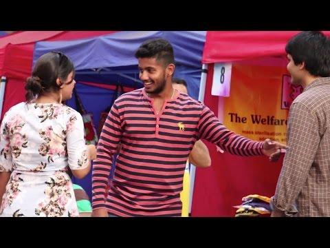 BOB Prank At Ballard Estate Festival Mumbai