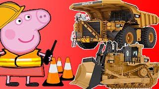 Peppa Pig | Construction Equipment  | Kids Video | Dump Truck