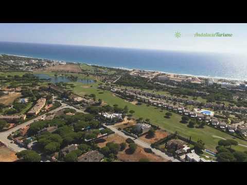 golf en novo sancti petri, chiclana de la frontera. cádiz - youtube