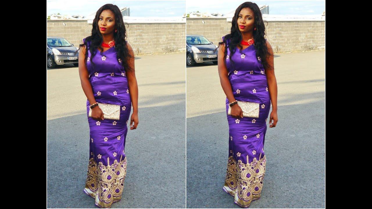 Nigerian Wedding 2 George Aso Ebi Igbo Wedding Youtube