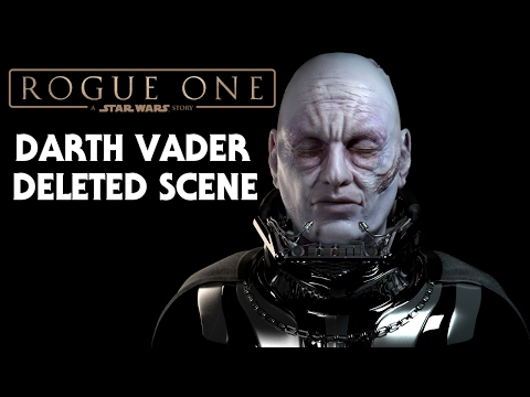 Rogue One A Star Wars Story Darth Vader Deleted Scene Leaked
