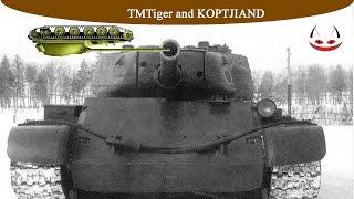 Т-54 Перший Зразок бере за дуло Об'єкт 416 і як сковорідку...