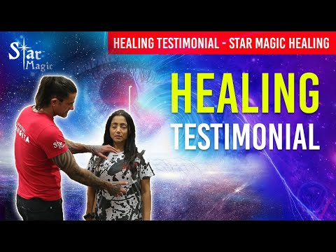 Star Magic Healing (JERRY SARGEANT HEALING TESTIMONIAL) Energy Healing Extra-Terrestrial Light