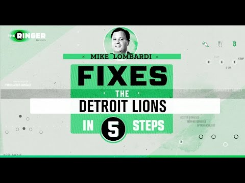 How to Fix the Detroit Lions in Five Steps   Michael Lombardi   The Ringer