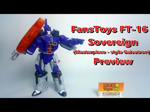 Transformers Fans Toys FT-16 Sovereign (MP style Galvatron) 廣東話Preview