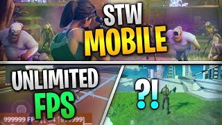 Fortnite Mobile News | STW Mobile, UNCAPPED FPS, FOV Hacks, AND MORE!!