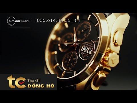 Số 4: Đồng Hồ Tissot Couturier T035.614.36.051.01