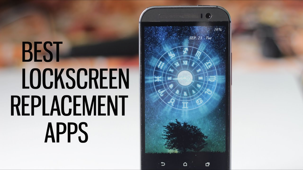 top 5 best lockscreen replacement apps customize your android 1 youtube. Black Bedroom Furniture Sets. Home Design Ideas