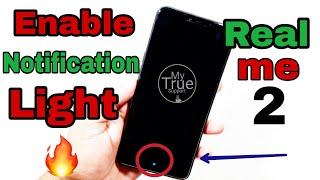 [Hindi] Notification Light in Realme 2   Realme 2 Pro   Enable Notification Light in Realme 2