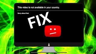 "Fix ""This content is not available in your country"""
