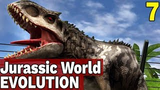4 WYSPA, INDOMINUS REX! - JURASSIC WORLD EVOLUTION