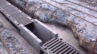 Установка и монтаж бетонные желоба MAXI  1(, 2014-01-29T17:22:21.000Z)